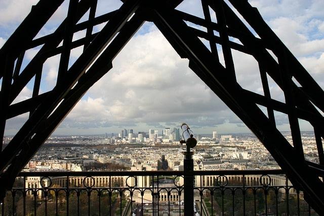 Eiffel Tower 2nd Floor View