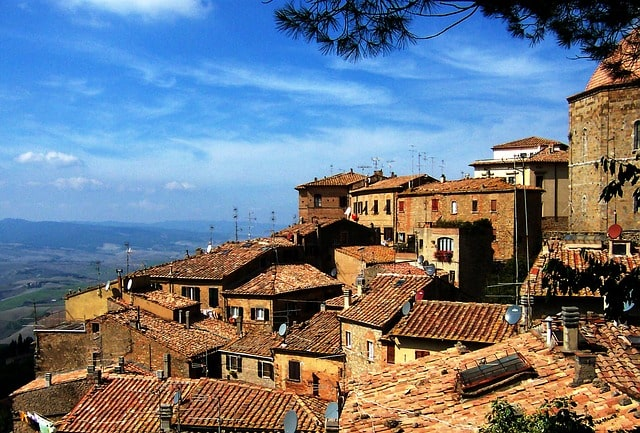 Hill Town Italy