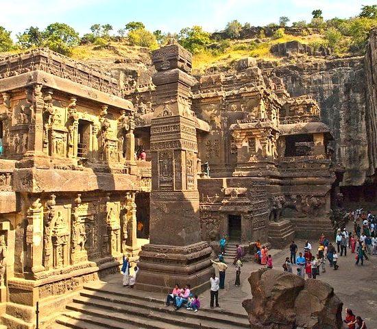 Kailash Temple at Sikandra