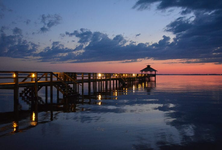 Currituck Pier by OuterBanks.com