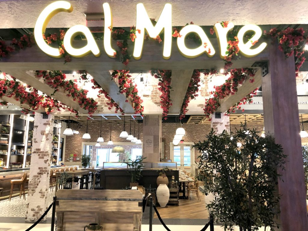 Cal Mare Restaurant MGM Springfield