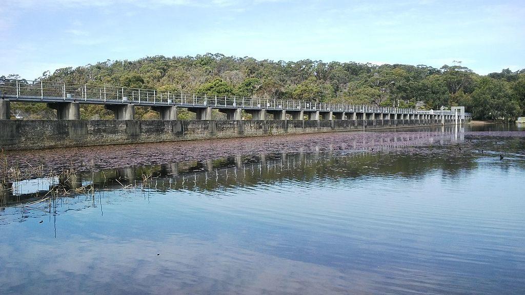 Manly Dam Wall Sydney