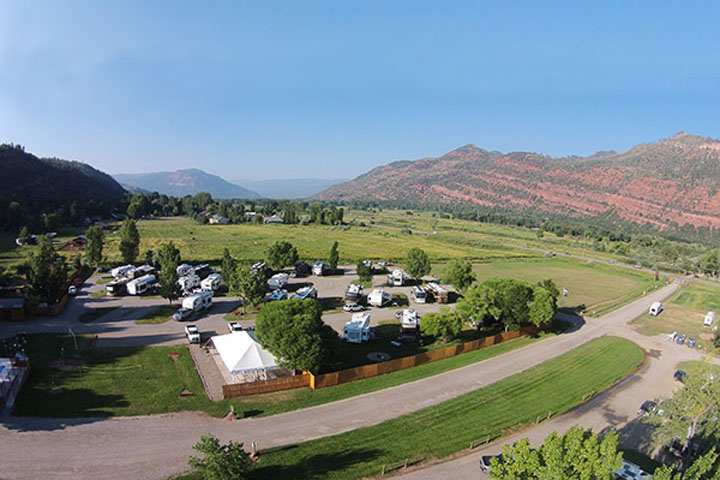 Alpen Rose RV Park Colorado