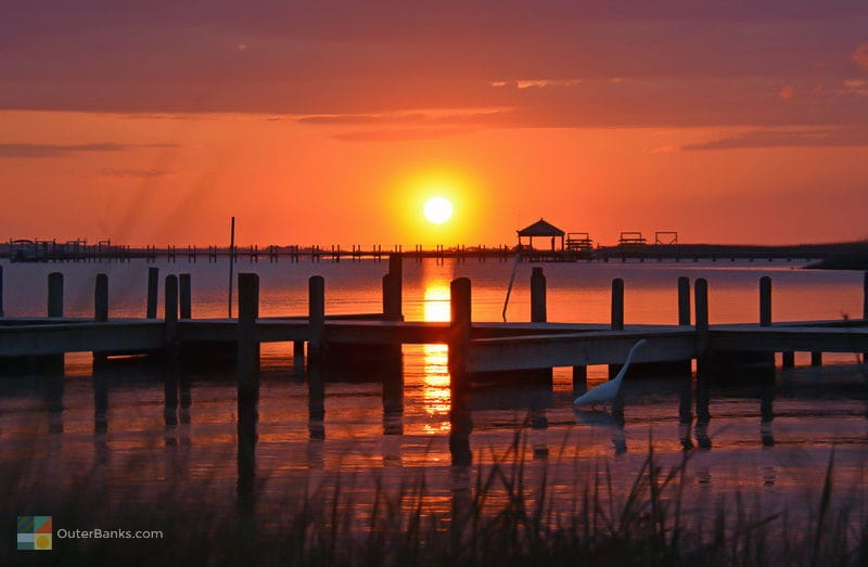 Cololla Sunset by OutertBanks.com