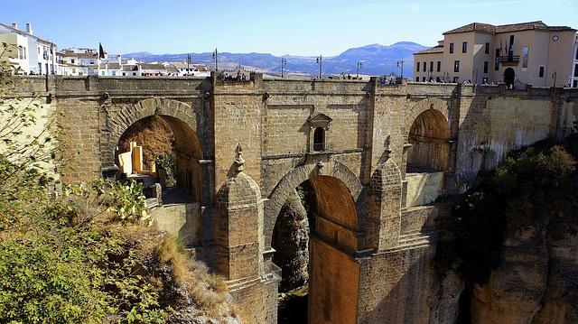 Ronda Bridge Andalusia Spain