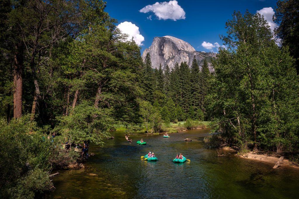 Calm Water River Rafting