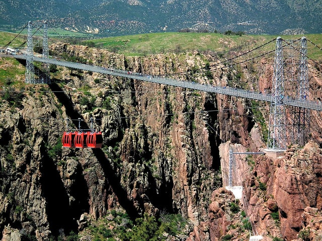 Royal Gorge Zipline Canon Colorado