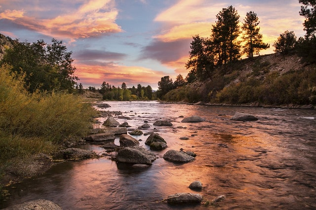 Arkansas River, Canon, Colorado