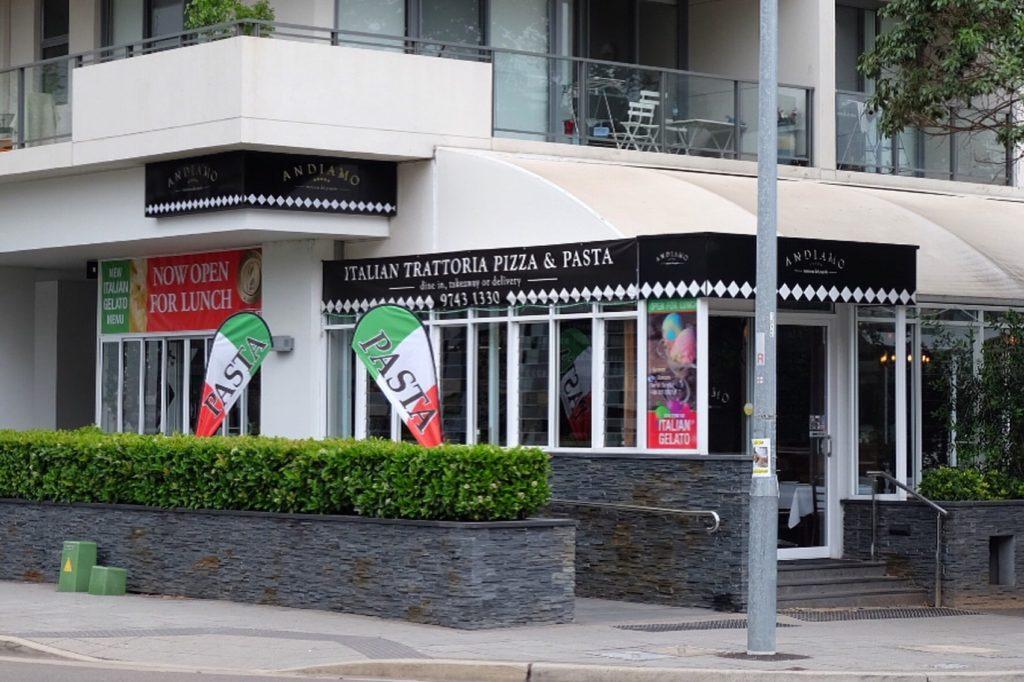 Andiamo Restaurant West Sydney