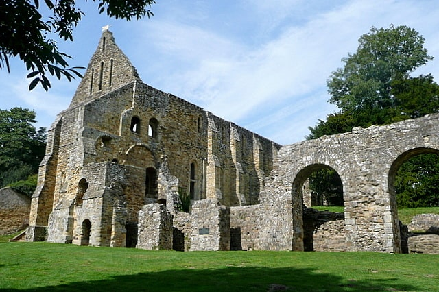 Battle Abbey Hastings England