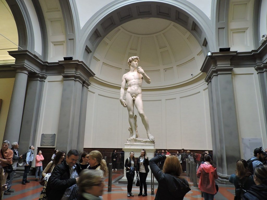 Michelangelo's David Sculpture Florence
