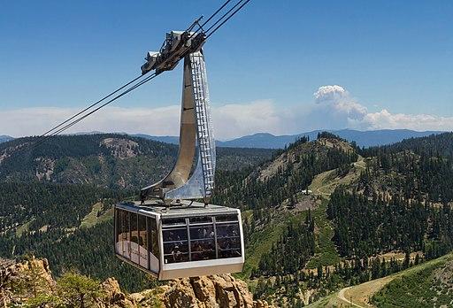 Squaw Valley Gondola Olympic Valley CA