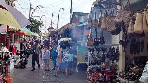 Ubud Street Market Bali