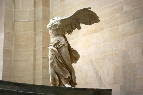 Winged Victory Lourve