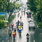 Cycle in the Rain Tips