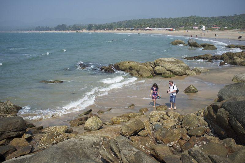 Agona Beach Goa India
