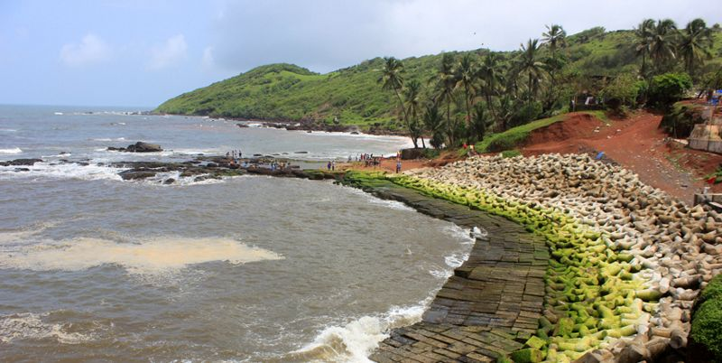 Anjuana Beach Goa India