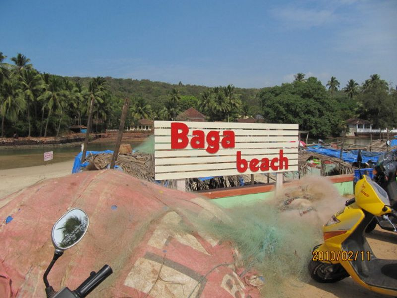 Baga Beach Goa India