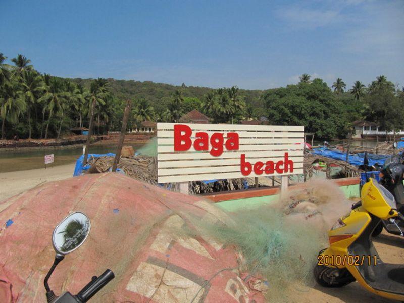 Baga Beach Goa India