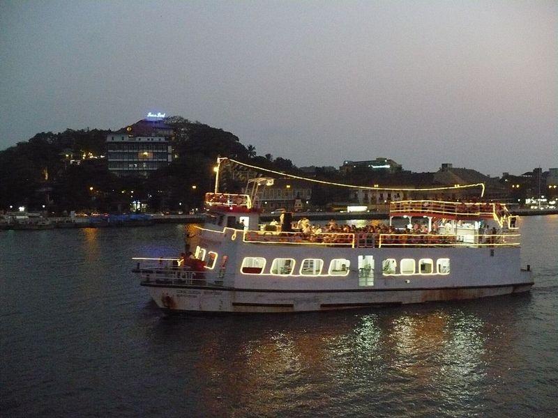 Cruise Ship Goa India