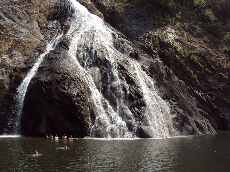 Dudhsagar Waterfalls Goa