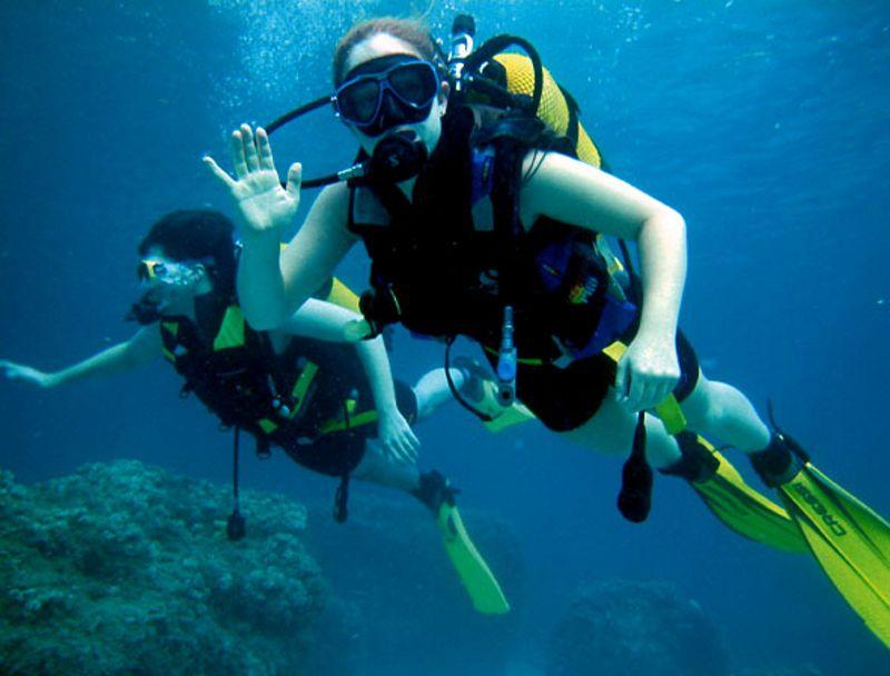 Scuba Diving Goa India