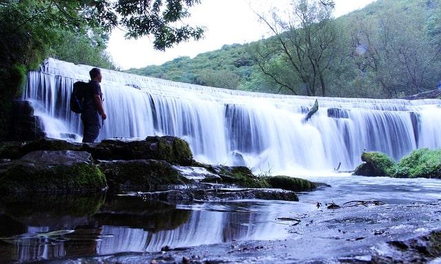Britian Waterfall Hike