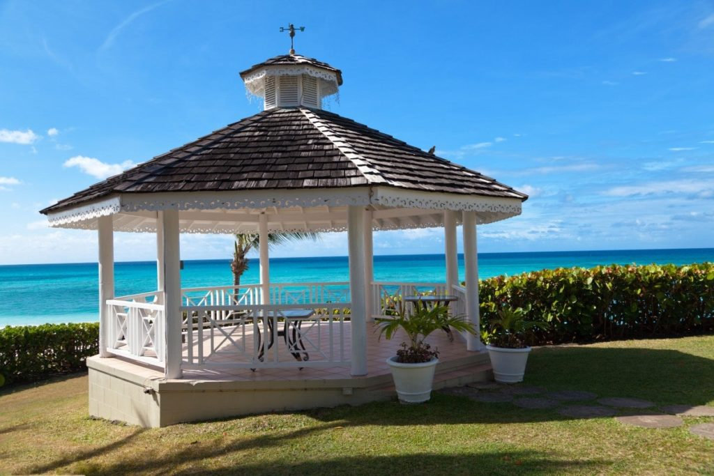 Barbados Beach Gazebo