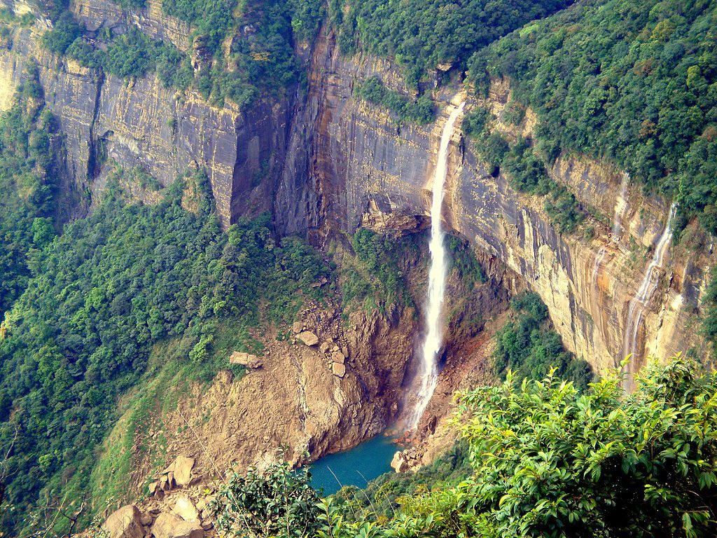 Nohkalikai Falls India