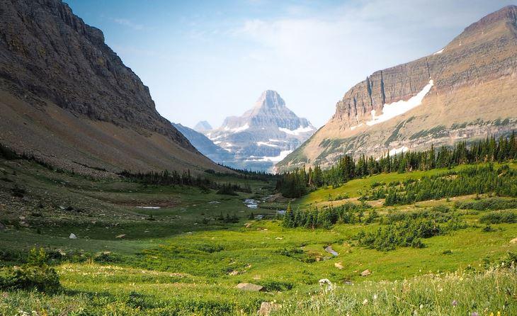 Siyeh Pass Glacier National Park