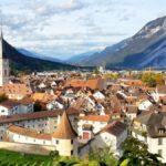 Switzerland Alpine Village
