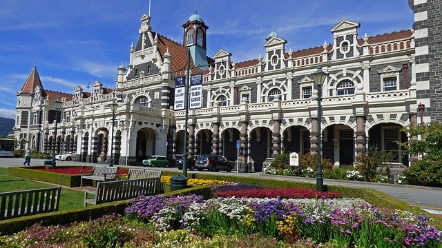 Dunedin Rairway Station New Zealand