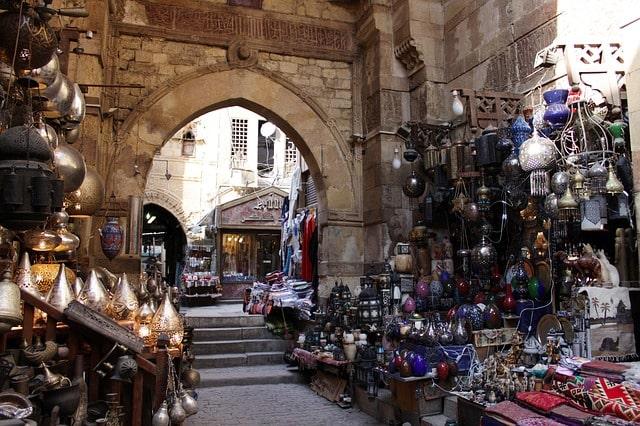 Cairo Souk Bazaar Egypt