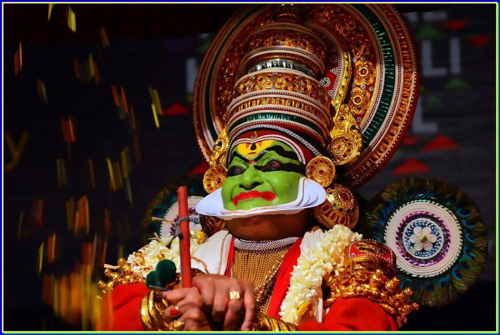 Kathatali Dance Kerala India