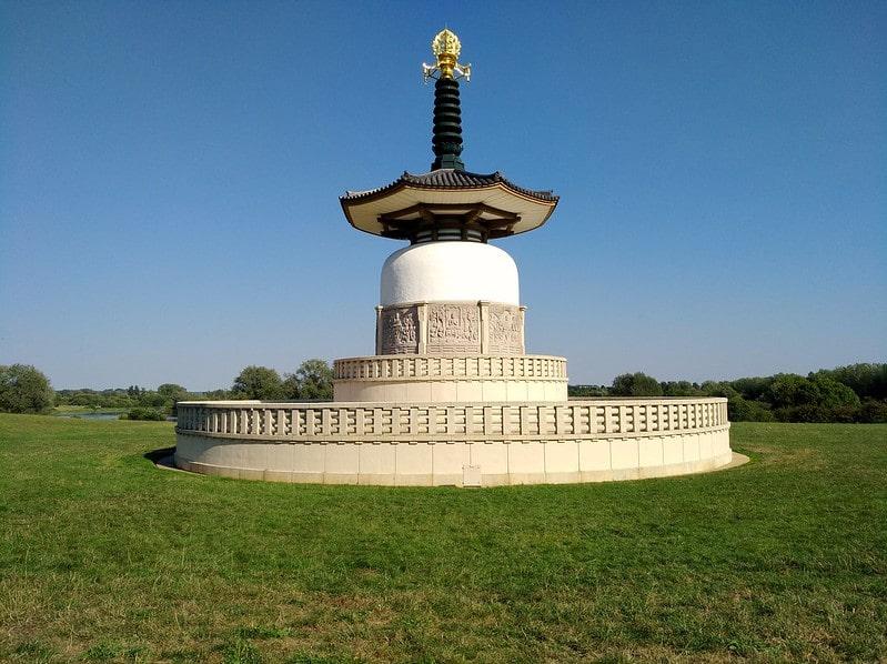 Milton Keynes UK - Peace Pagoda