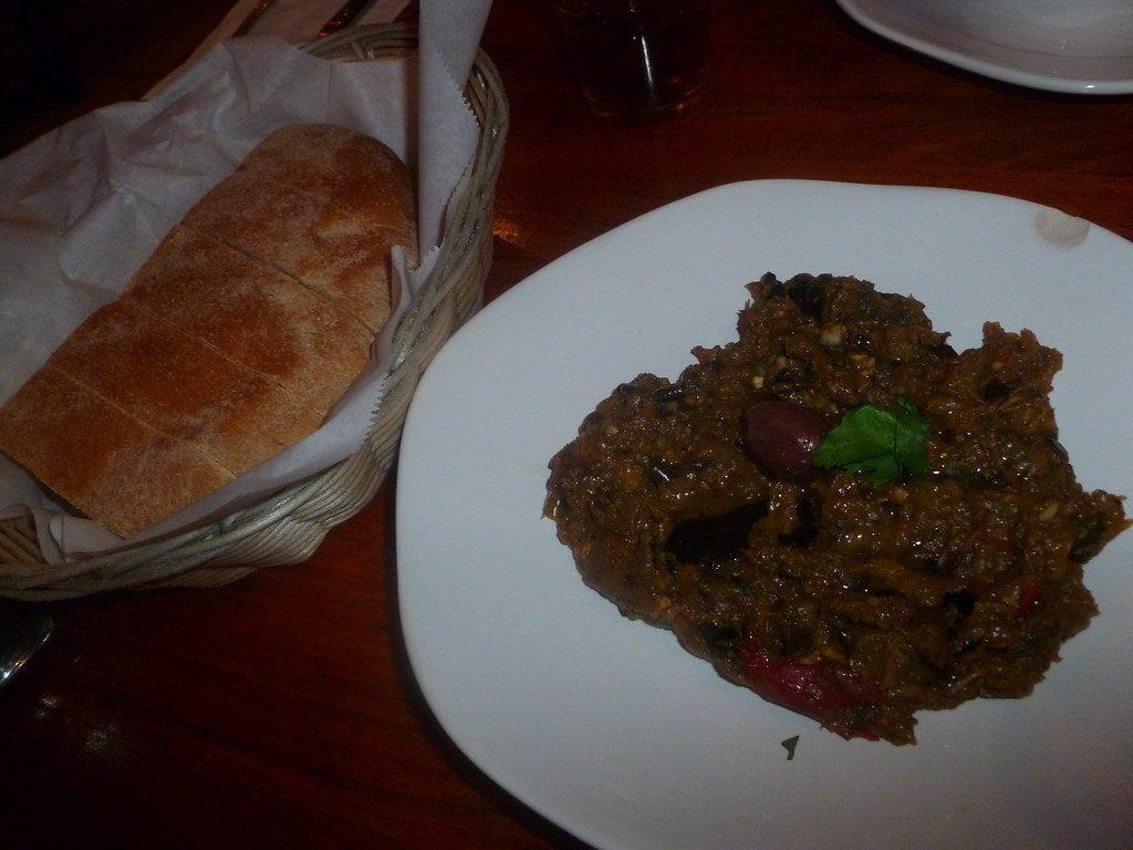Zaalouk Eggplant Dish Morocco