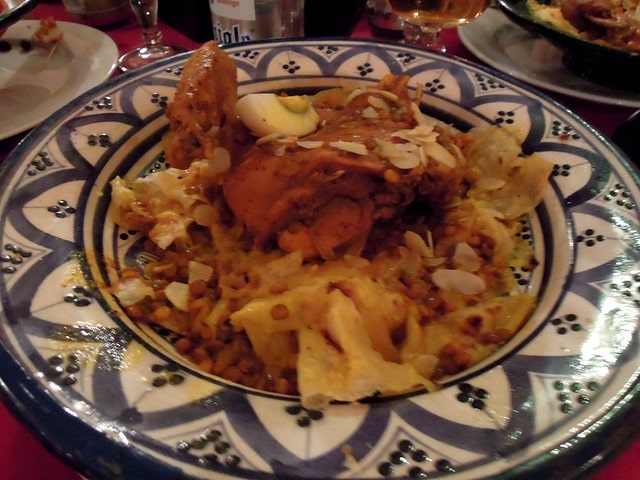 R'fissa Moroccan Dish