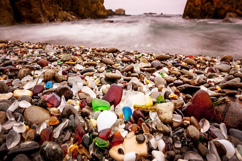 Glass Beach Fort Bragg CA