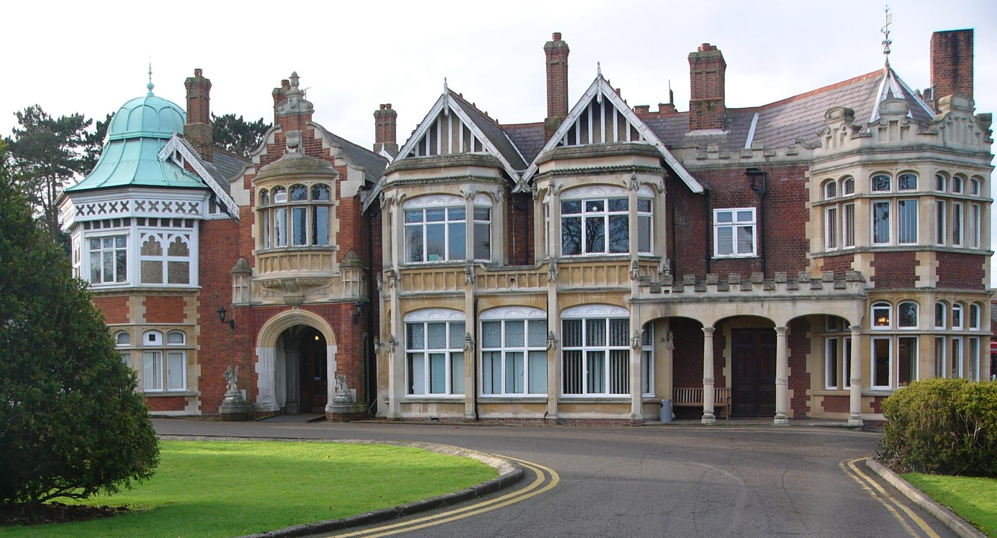 Milton Keynes UK - Bletchley Park