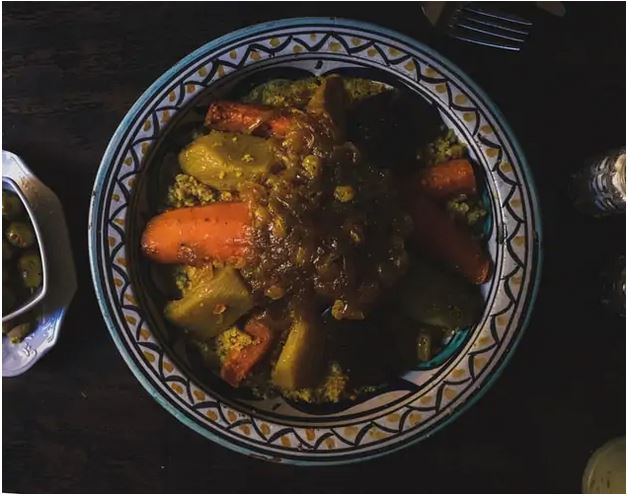 Couscous Moroccan Dish