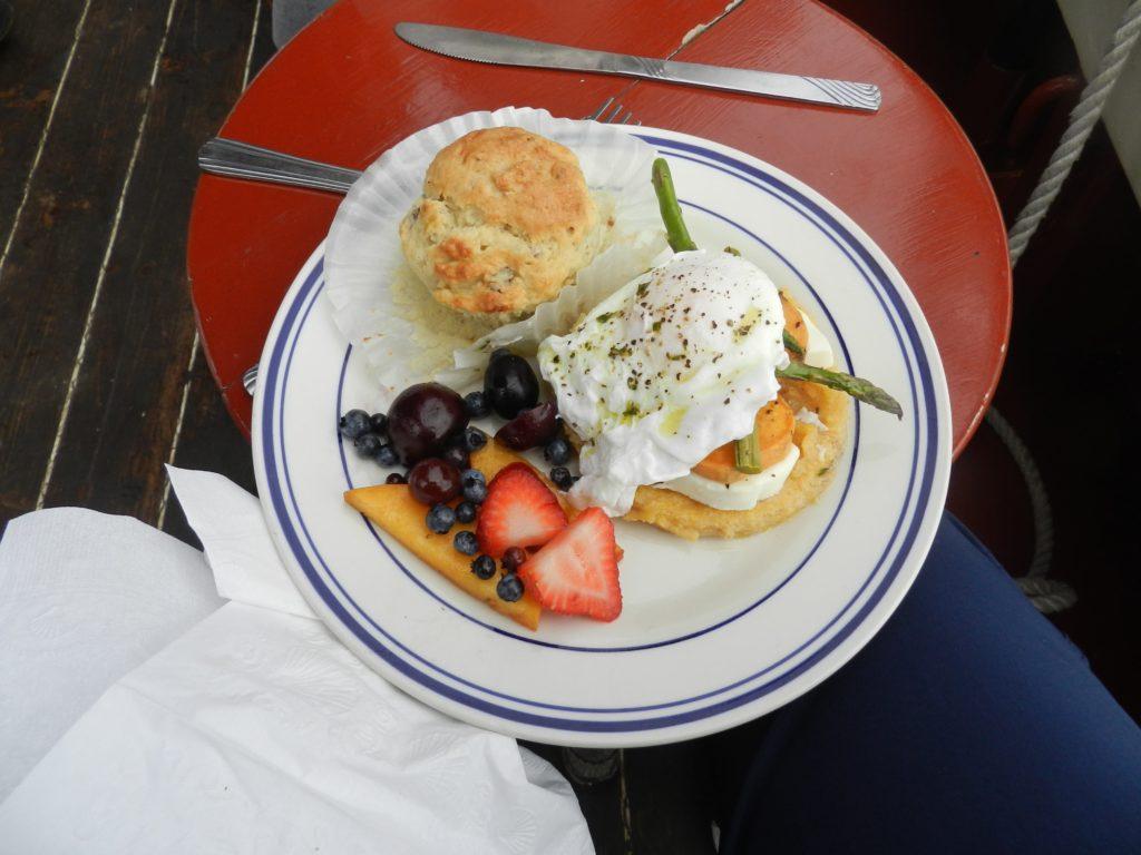 Breakfast on Stephen Taber Windjammer