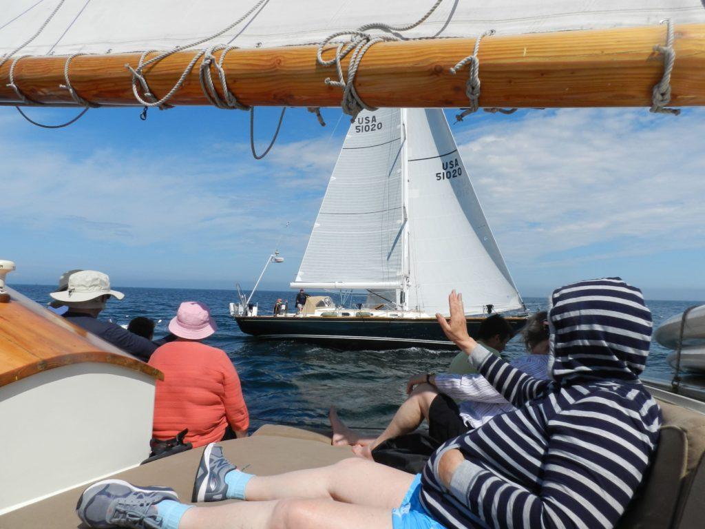 Sailing on Schooner Stephen Taber