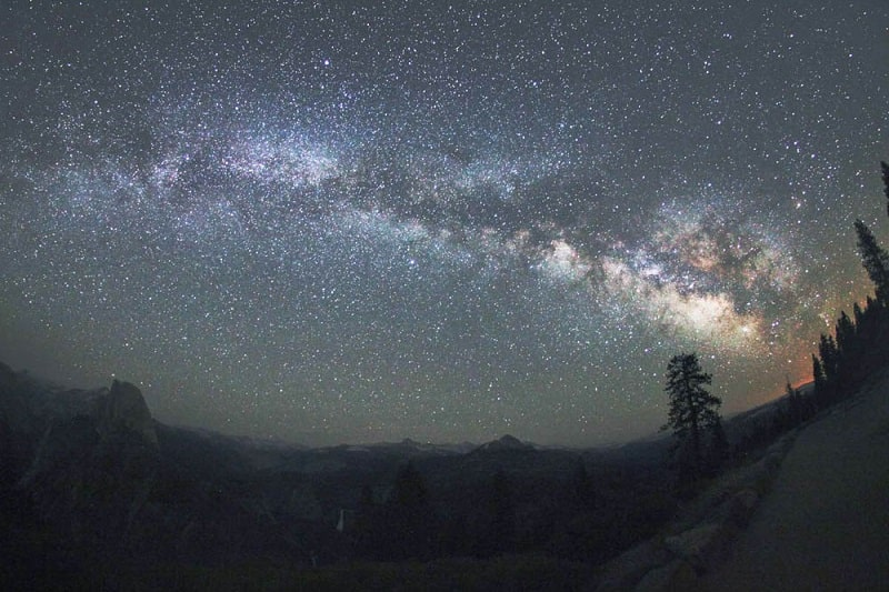 Stargazing in Yosemite National Park