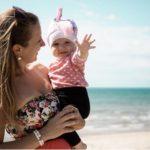Baby at Barcelona Beach