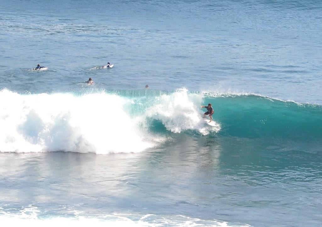 Bali Surfing Beach