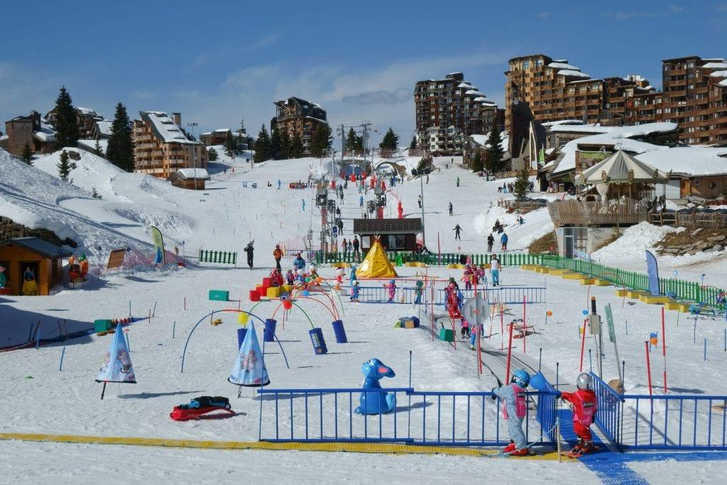 French Alps Family Ski Vacation