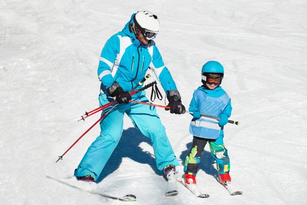 Kids ski resorts French Alps