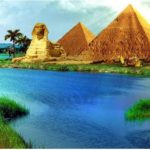 Nile River Pyramids