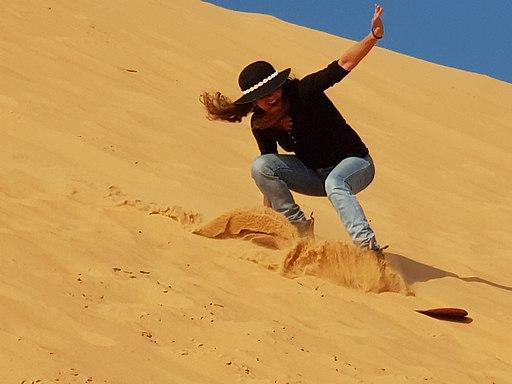 Desert Sandboarding