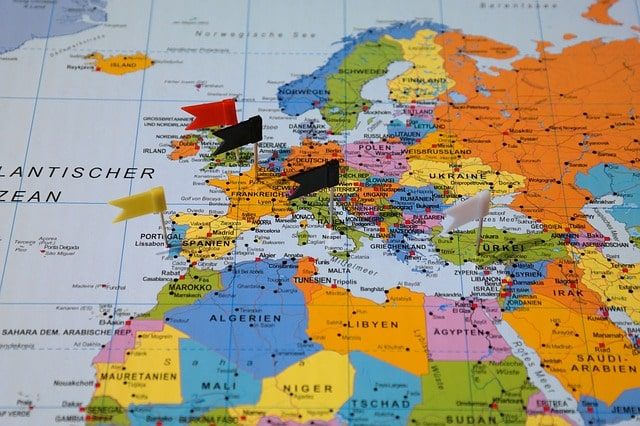Bucket List Destination Map